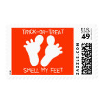 Trick-or-Treat Smell my Feet Stamps