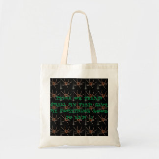 TRICK OR TREAT! SMELL MY FEET! TOTE BAG