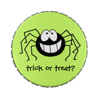 Trick or Treat Spider Jelly Belly Candy Tin