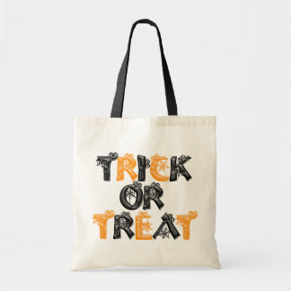 Trick Or Treat Spider Web Tote Bag