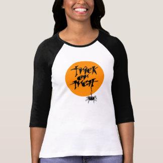 Trick or Treat Spidey Ladies' T T Shirt