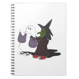 trick Or treat Spiral Note Book