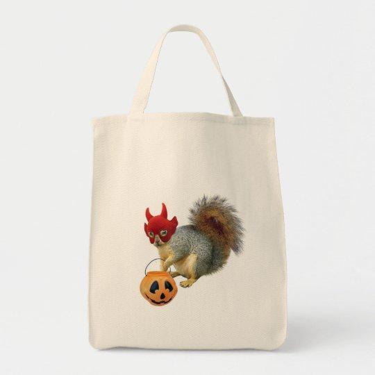 Trick or Treat Squirrel Tote Bag