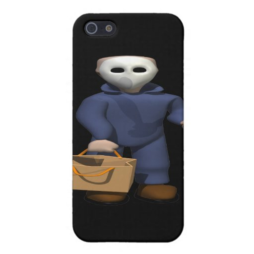 Trick Or Treat Stalker Case For iPhone 5