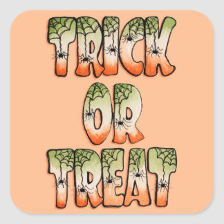 Trick or Treat - Stickers