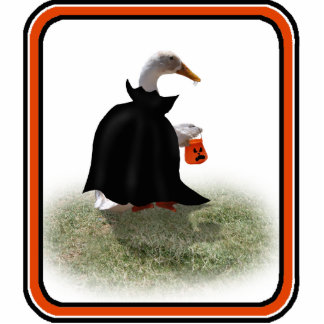 Trick or Treat Time for Count Duckula Photo Cut Outs