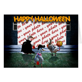 Trick or Treat Time for these Little Ducks Cards