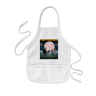 Trick or Treat Time for these Little Ducks Kids' Apron