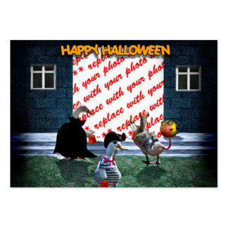 Trick or Treat Time for these Little Ducks Large Business Cards (Pack Of 100)