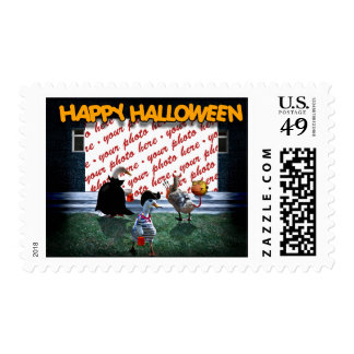 Trick or Treat Time for these Little Ducks Stamp