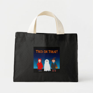 Trick or Treat Tiny Tote Bags