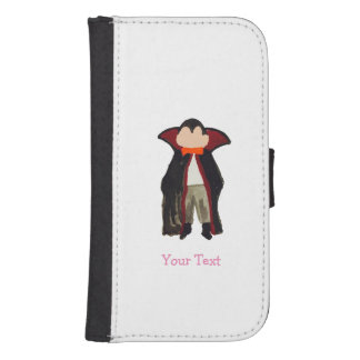 Trick or Treat Toddler Dracula Vampire Custom Name Galaxy S4 Wallet