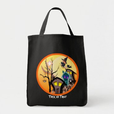 Halloween Themed Trick or Treat Tote Bag