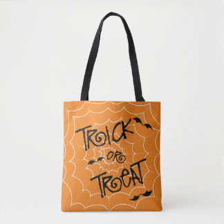 Trick or Treat Tote Happy Halloween bags