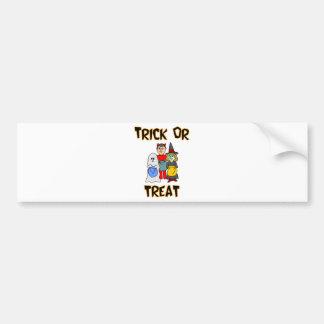 Trick Or Treat Trick-Or-Treaters Bumper Sticker