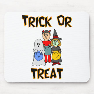 Trick Or Treat (Trick-Or-Treaters) Mouse Pad