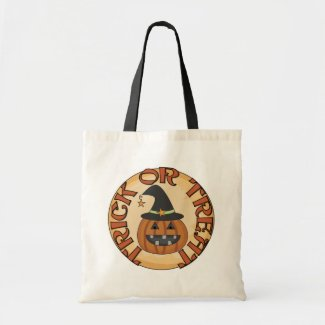 Trick or Treat Tshirts and Gifts Bag