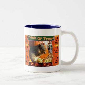 Trick or Treat Two-Tone Coffee Mug