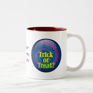 Trick Or Treat? Two-Tone Coffee Mug