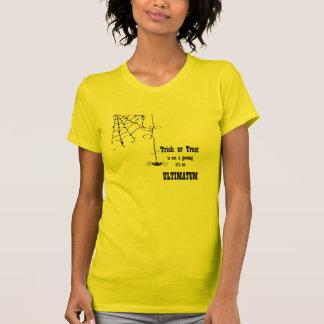 Trick or Treat ultimatum T-shirts