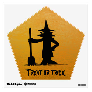trick or treat wall sticker