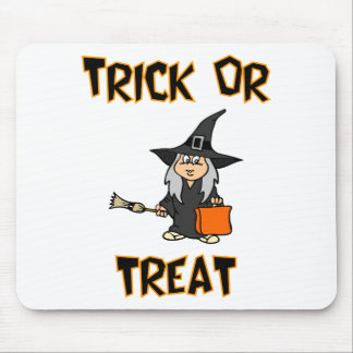 Trick Or Treat (Witch Costume) Mouse Pad
