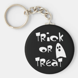 Trick Or Treat with Cute Ghost Keychain