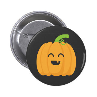 Trick or Treat with Cute Pumpkin for Halloween Buttons