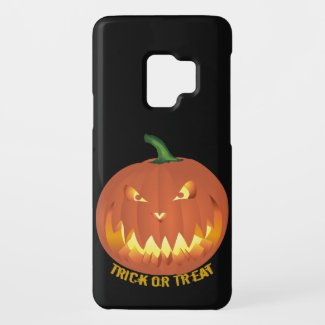 Trick or Treat with Pumpkin Face... Case-Mate Samsung Galaxy S9 Case
