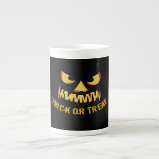Trick or Treat with Pumpkin Face Tea Cup