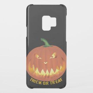 Trick or Treat with Pumpkin Face... Uncommon Samsung Galaxy S9 Case