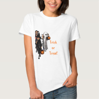 Trick or Treat! - Womans Baby Doll T-Shirt