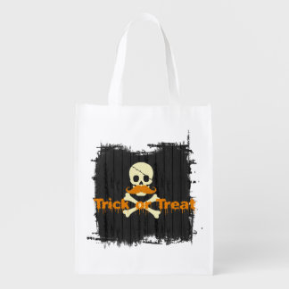 Trick or Treat Reusable Grocery Bags