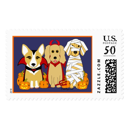 Trick or Treaters! Postage