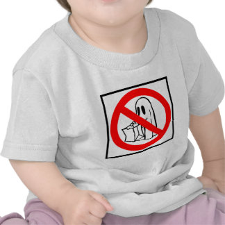 Trick or Treaters Prohibited - Halloween Sign Tee Shirt