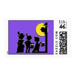 Trick-or-Treaters Stamp