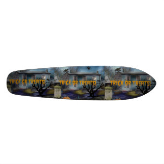 Trick or Treats Haunted House Skateboard