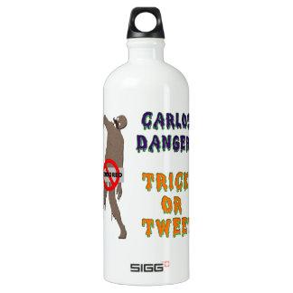 Trick or Tweet Aluminum Water Bottle