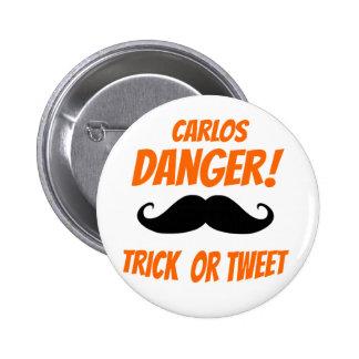 Trick or Tweet Pins