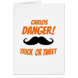 Trick or Tweet Card