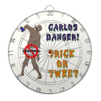 Trick or Tweet Dartboards
