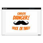 "Trick or Tweet Decals For 15"" Laptops"