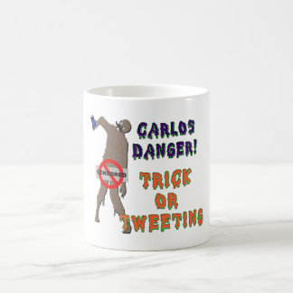 Trick or Tweet Classic White Coffee Mug