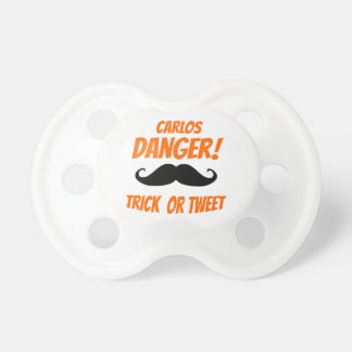 Trick or Tweet Baby Pacifier