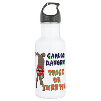 Trick or Tweet 18oz Water Bottle