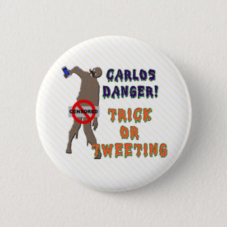 Trick or Tweet Pinback Button