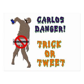 Trick or Tweet Postcard