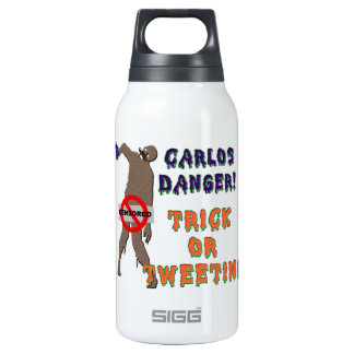 Trick or Tweet 10 Oz Insulated SIGG Thermos Water Bottle