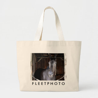 Trick Phone, a 2 year old Colt Large Tote Bag
