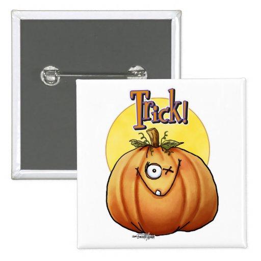 Trick Pumpkin button